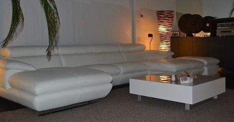 Design Bank Wit Leer.Wit Salon In Leder Thuis Ideeen Voor Thuisdecoratie Salon