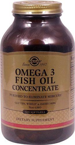 Comprar Solgar Omega 3 Fish Oil Concentrate 120 Softgels