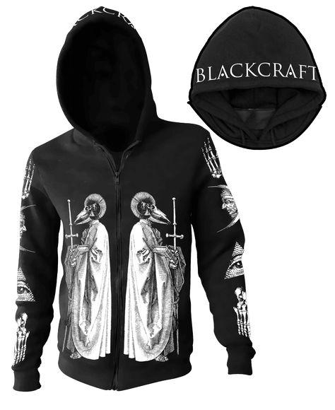Ram Priest - Zip up hoodie – Blackcraft Cult