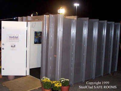 SteelClad Extreme Weather Safe Room | Safe room, Secret