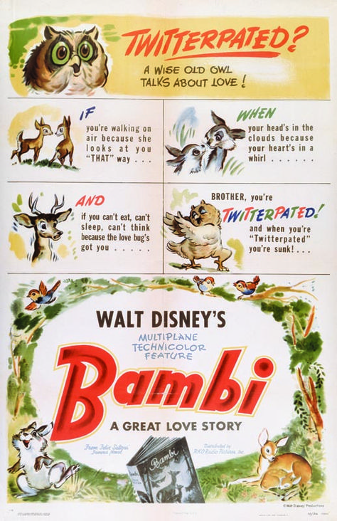 Throwback Thursday: Bambi Movie Posters