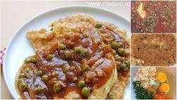 Resep Omelet Udang Saos Bbq Sedap Simple But So Special Resep Resep Masakan Makanan