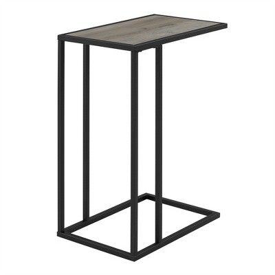20 C Table Gray Wash Saracina Home Target C Table Modern