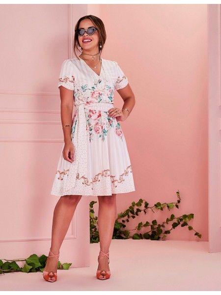 34 modelos de vestido midi para você ficar feminina e