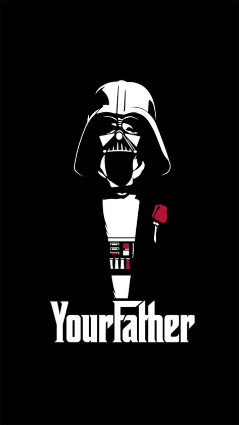 COLOUR I AM YOUR FATHER MENS T-SHIRT FUNNY GODFATHER VADER TROOPER DARTH WARS