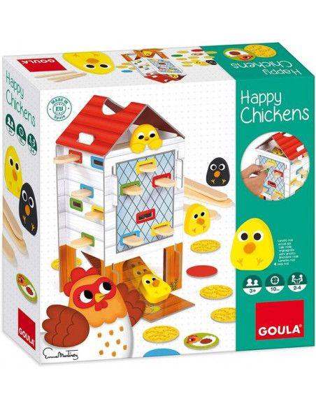 Jeu Happy Chicken Goula Jeux De Societe Jeux Jeux De Couleur