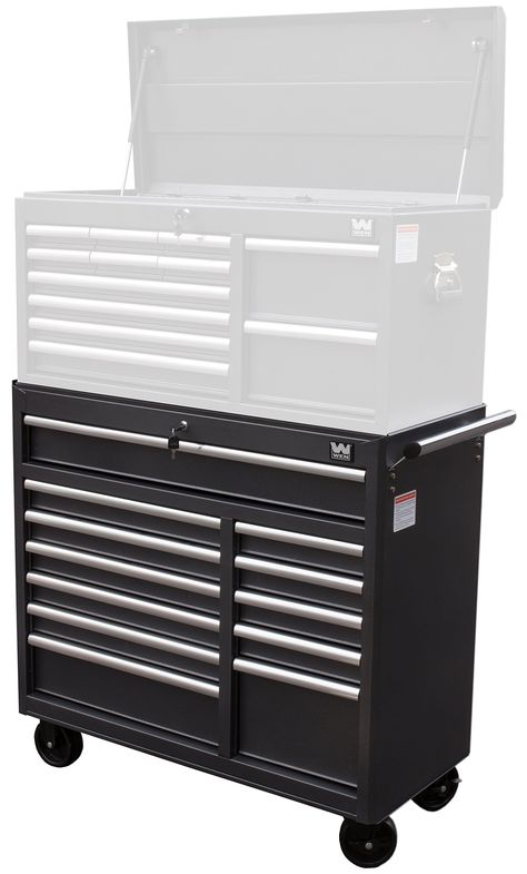 Wen 74412 41 Inch 12 Drawer Rolling Tool Cabinet With Images