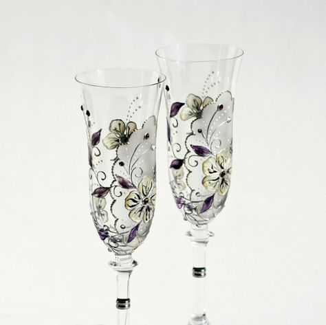 Hand Painted Glasses