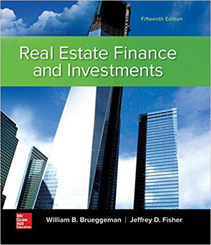 Test Bank For Real Estate Finance And Investments 15th Edition