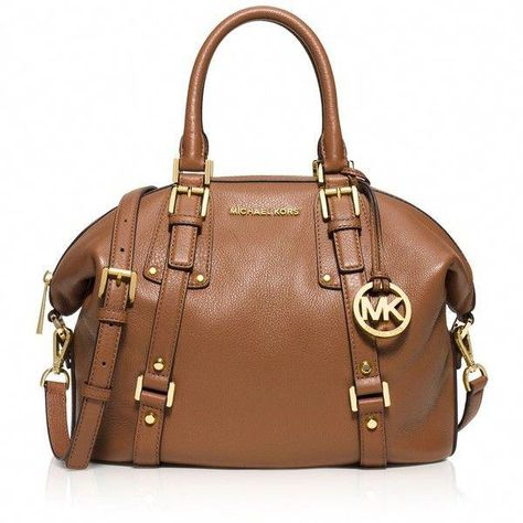 6380b86e3 MICHAEL Michael Kors Medium Belted Bedford Satchel (550 AUD) ❤ liked on  Polyvore featuring