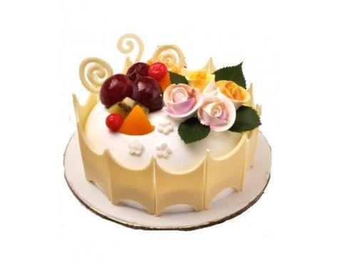 Strange Fresh Fruit Cake 5 Fresh Fruit Cake Cake Buy Birthday Cake Funny Birthday Cards Online Inifodamsfinfo