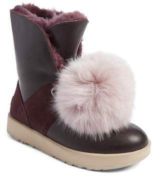 d81951957d8 UGG(R) Isley Genuine Shearling Pompom Waterproof Boot | Beauty Snap ...