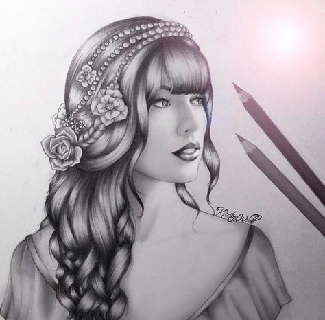 Taylor Swift Desenho De Cabelo Desenho De Bonequinhas Desenhos