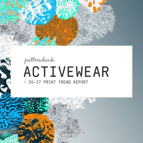 Activewear Print & Pattern Trend Report – Spring/Summer 2017