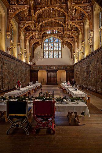 A Tudor great Hall - Hampton Court, London Tudor History, British History, Asian History, Palaces, Dinastia Tudor, Tudor Dynasty, Hampton Court, Hampton Palace, Le Palais