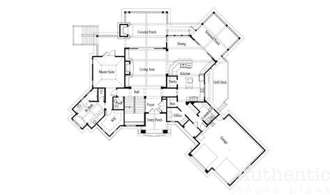 The Eastatoe Authentic House Plans Lake Front House Plans Cabin Floor Plans House Plans