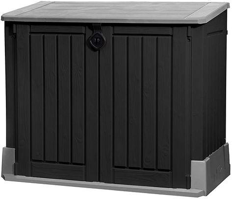 Keter Mulltonnenbox Store It Out Midi Schwarz 845l Geschenksachen