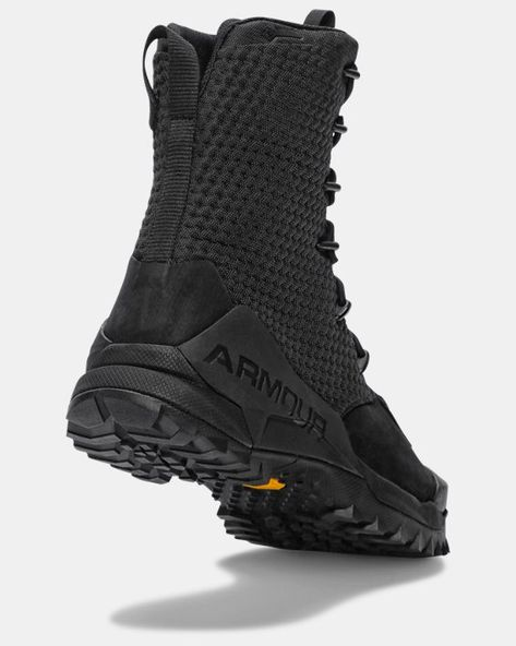Tactical Shoes, Tactical Wear, Tactical Clothing, Under Armour Shoes, Under Armour Men, Mens Boots Fashion, Underwear Shop, Gore Tex, Hard Rock
