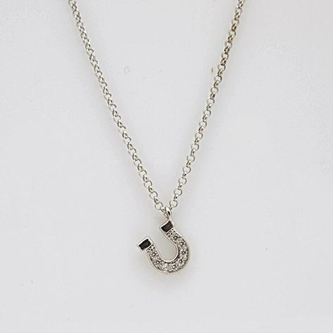 JewelsObsession Sterling Silver 20mm Horseshoe Charm w//Lobster Clasp
