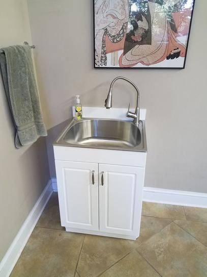 utility sink sink glacier bay