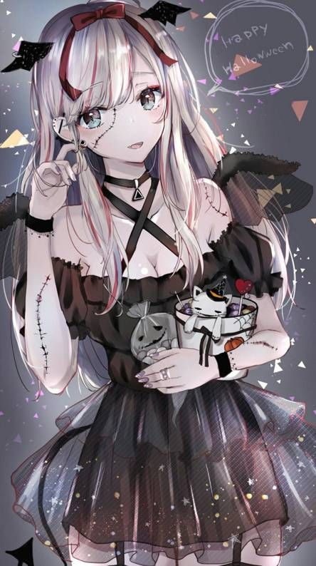 Anime Zombie Girl Anime Fantasy Anime Halloween Anime Neko