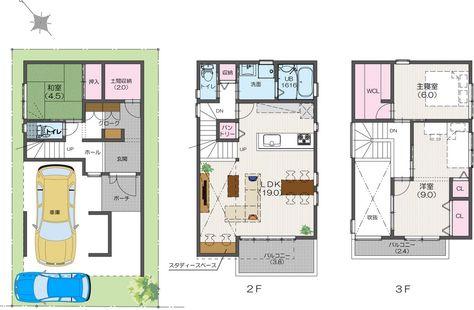 contoh denah rumah minimalis, contoh denah rumah sederhana
