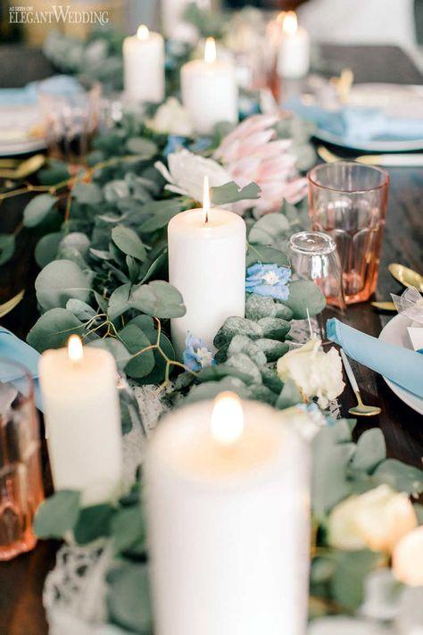 Delicate Rose Quartz Boho Wedding Theme | ElegantWedding.ca