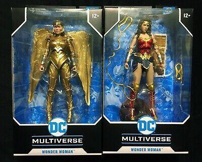Mcfarlane Dc Multiverse Wonder Woman 1984 Lot Of 2 Figures In 2020 Comic Book Heroes Wonder Woman Movies To Watch