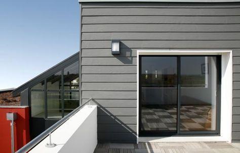 SCB - Bardage Duracolor Gris ardoise Garage Pinterest - Combien Coute Une Extension De Maison