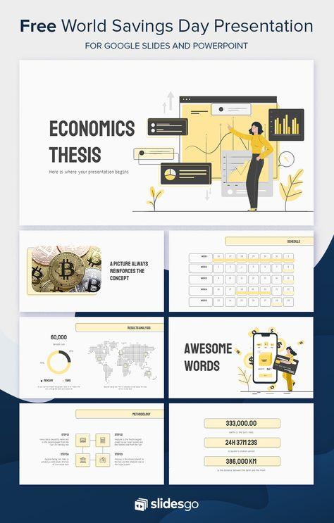Economic Thesi Powerpoint Presentation Design How To Start A Dissertation