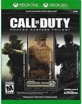 Call Of Duty Modern Warfare Trilogy Xbox One Xbox 360 New Free Us Shipping 47875884137 Ebay In 2020 Modern Warfare Call Of Duty Xbox One