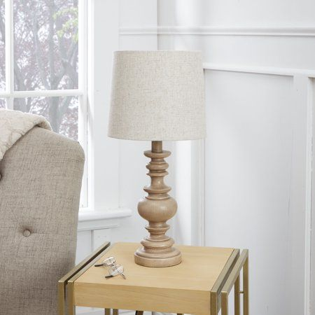 Home Table Lamp Wood Lamp Neutral Table Lamps