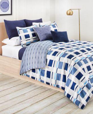 Lacoste Vars Cotton Blue 2 Pc Twin Twin Xl Duvet Cover Set Blue Hotel Bedding Sets Cheap Bedding Sets Comforter Sets