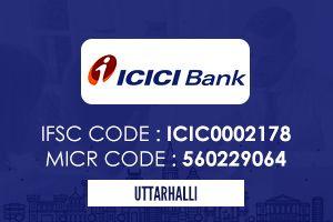 Icici Bank Uttarahalli Ifsc Code Icici Bank Coding Personal Loans