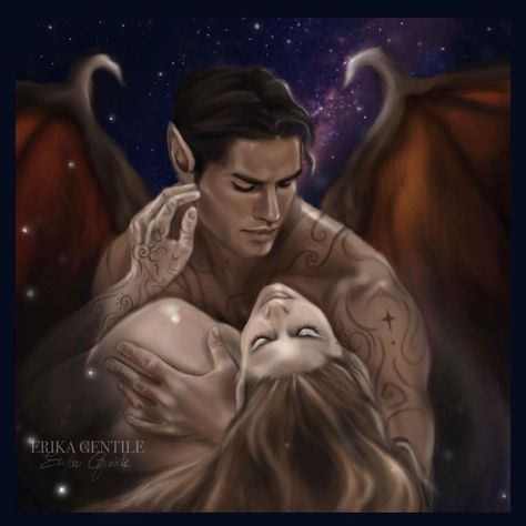A Court Of Wings And Ruin, A Court Of Mist And Fury, Fantasy Books, Fantasy Art, Lucifer Wings, Feyre And Rhysand, Sara J Maas, Sarah J Maas Books, Throne Of Glass Series