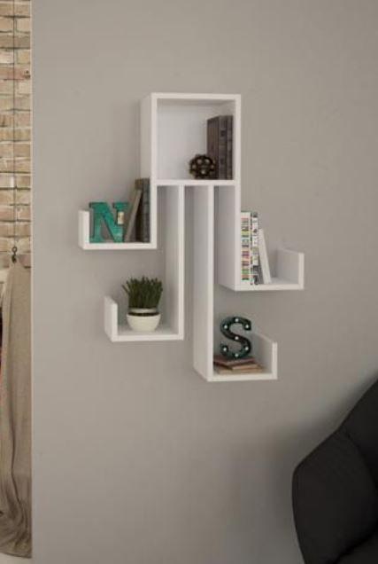 15 Nice Wall Shelf Ideas For Living Room Living Room Shelves Modern Wall Shelf Wall Shelves Design