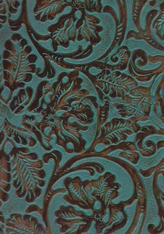 Western Upholstery Fabric Simple Embossed Leather Upholstery