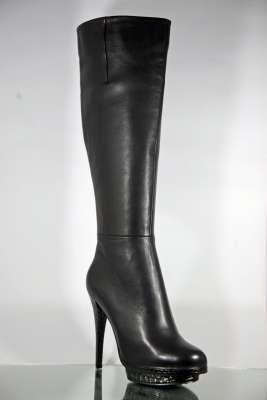 online store f8ae7 1cced High Heels Stiefel, spitz oder rund, mit Stiletto-Absatz ...
