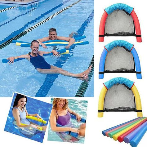 Inflatable Pool Lounge Floats For Adults Recliner Home Outdoor Beach Summer Fun