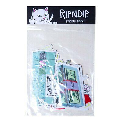 Details About Ripndip Su19 Sticker Pack Multi Cat Skateboard