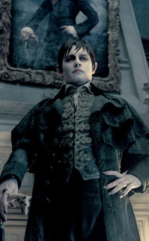 "Johnny Depp in character as ""Barnabas Collins"" in ""Dark Shadows"", 2012... p.s. Anyone else thinking Geward Way?!"