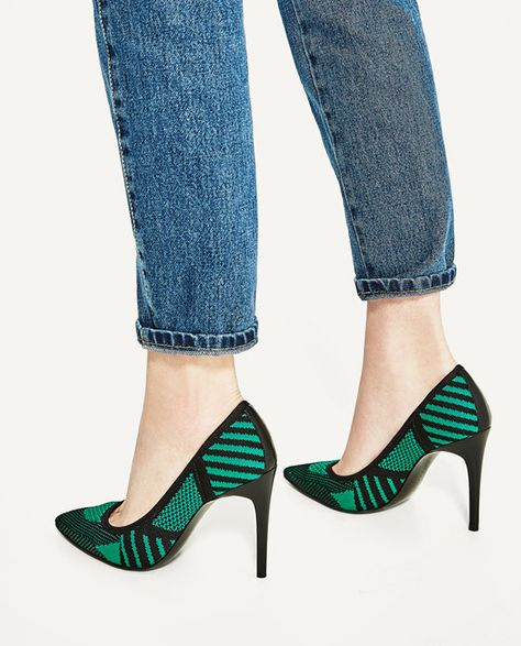FABRIC HIGH HEEL SHOES SHOES WOMAN SALE | ZARA United States
