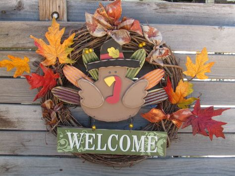 36 welcome turkey wreath welcome thanksgiving door decor fall turkey door decor thanksgiving teardrop gold welcome turk fall thanksgiving halloween