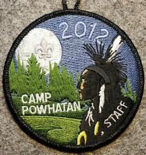 Camp Powhatan Blue Ridge Scout Reservation New Boy Scout Belt