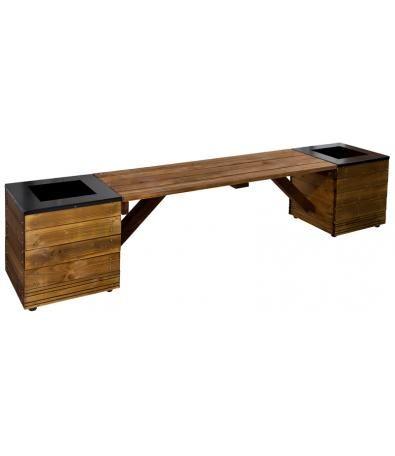 Remarkable Rousham Straight Planter Bench A Simple Slatted Wood Bench Uwap Interior Chair Design Uwaporg