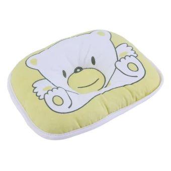 Fashion Bear Pattern Pillow Newborn Infant Baby Support Cushion Pad Prevent Flat