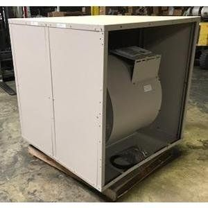Phoenix Manufacturing Inc 185237 470 9875 Cfm Aerocool Commercial Industrial Series Downflow Evaporative Cooler Less Motor And Wet Section Evaporative Cooler Air Conditioning Installation Manufacturing