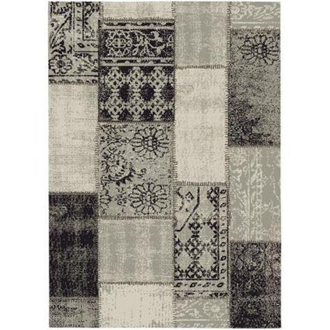 Vloerkleed Vintage Patchwork.Vloerkleed Fajah Vintage Patchwork Bruin 160 X 230 Cm