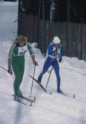 Ski stars nackt