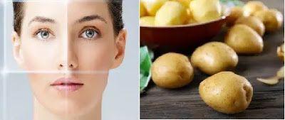 ماسكات طبيعية بالبطاطس Potatoes Skin Care Food